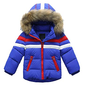 3fd4b01e4 iikids®Kids Boys Girls Warm Thick White Duck Down Coat Puffer ...