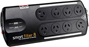 Thor B8F 8-Way SmartFilter 8 Surge Protection Power Board with Noise Filter