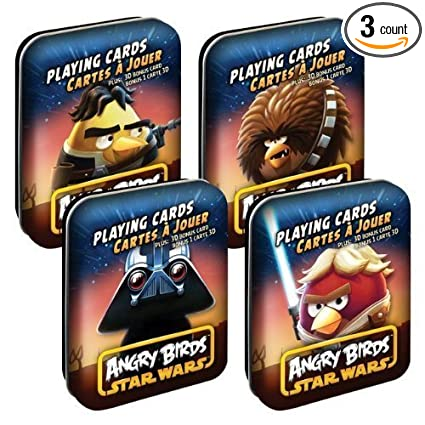 Amazon.com: Angry Birds Star Wars juego de cartas Varios ...