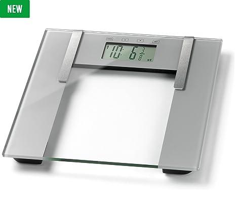 Weight Watchers Nueva Ultra Slim – Báscula de análisis corporal, color plateado