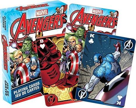 sneakers for cheap 7f040 f0b68 Aquarius Marvel Avengers Comics carte da gioco