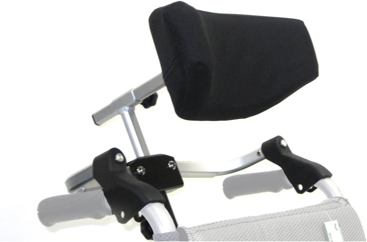 Karman Foldable Free shipping New Universal Headrest Silver for Arctic Wheelchair Max 61% OFF
