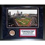 MLB Cleveland Indians Progressive Field 11 x 14-Inch Mini Dirt Collage