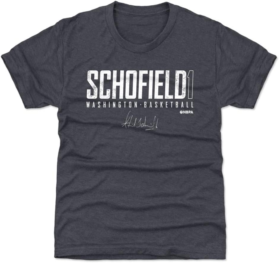 500 LEVEL Admiral Schofield Washington Basketball Kids Shirt - Admiral Schofield Washington Elite