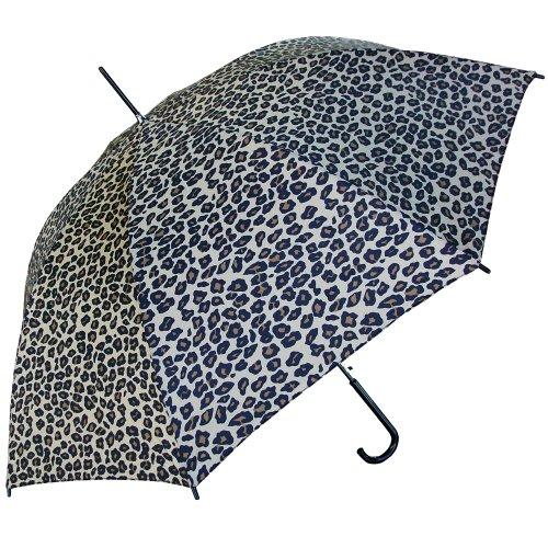 RainStoppers Auto Open Doorman Hook Handle (Animal Print Umbrella)