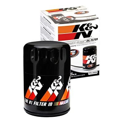 K&N Premium Oil Filter: Designed to Protect your Engine: Fits Select CHEVROLET/GMC/BUICK/CADILLAC Vehicle Models (See Product Description for Full List of Compatible Vehicles), PS-2006: Automotive