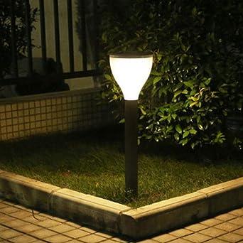 Luz Césped Acrílico Solar Exterior Césped Luces Hogar Exterior Impermeable Geodesia Jardín Luces 10 Piezas Color De La Imagen: Amazon.es: Iluminación