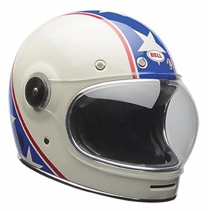 3e25abf3 Amazon.com: Bell Bullitt Special Edition Full-Face Motorcycle Helmet (Chemical  Candy Blue/White, Medium): Automotive