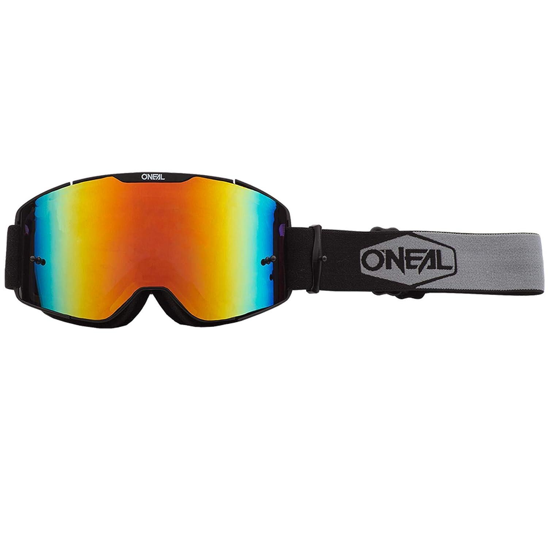 ONEAL B20 Plain Goggle MX DH Brille schwarz//wei/ß//grau Oneal