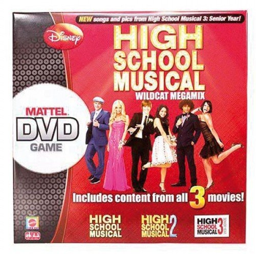 High School Musical DVD Board Game by Mattel