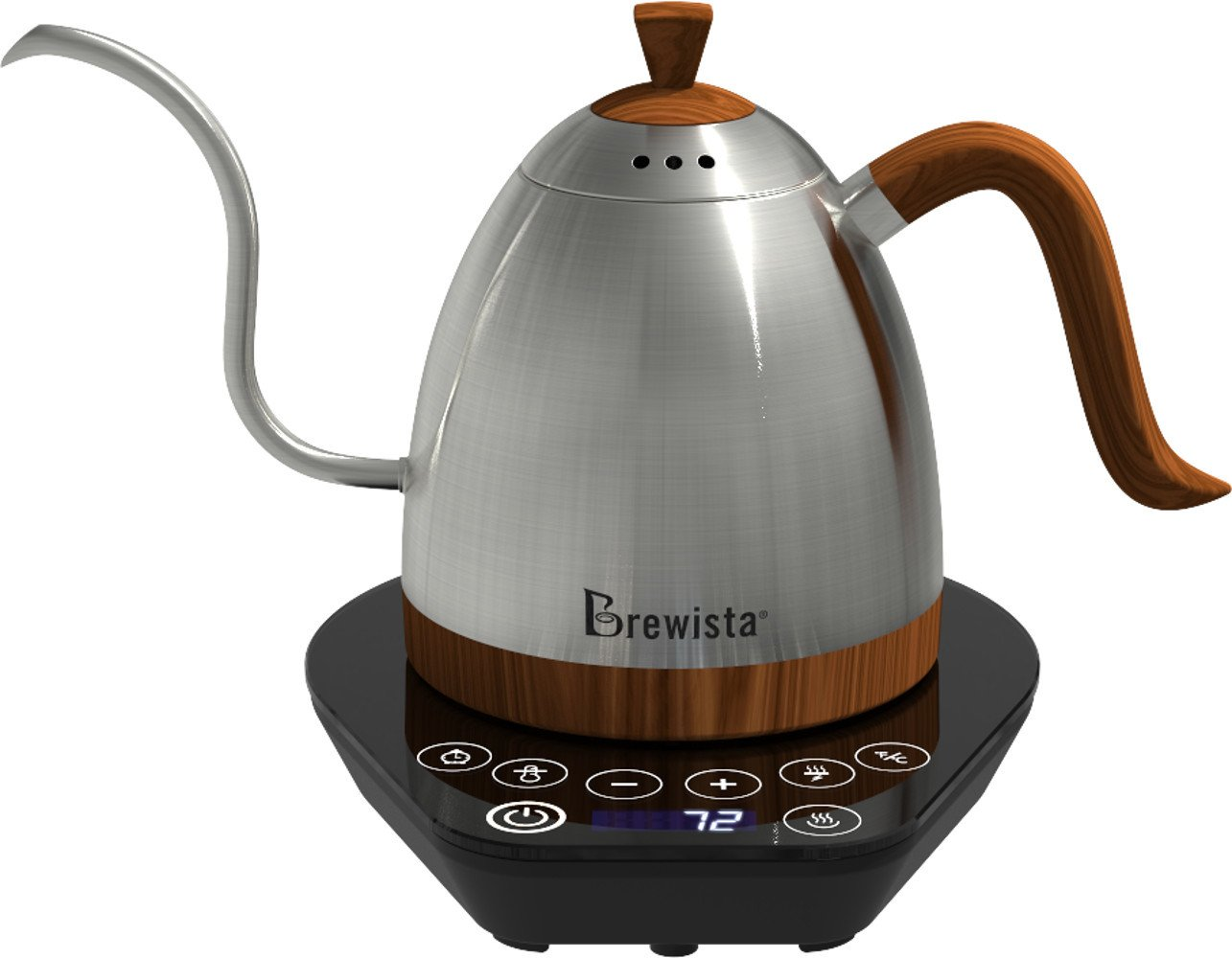 Brewista Artisan Gooseneck Variable Kettle (Silver)