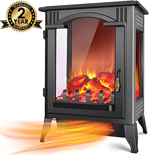 Amazon Com Infrared Fireplace Heater 1500w 750w Infrared