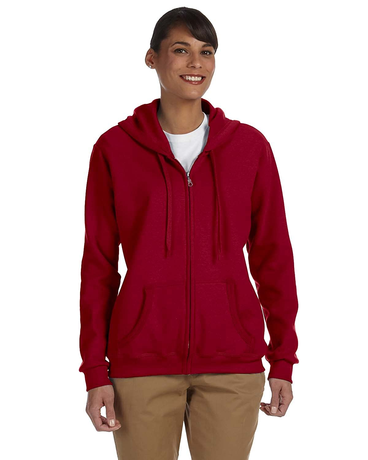 Gildan Heavy Blend Ladies Full-Zip Hooded Sweatshirt