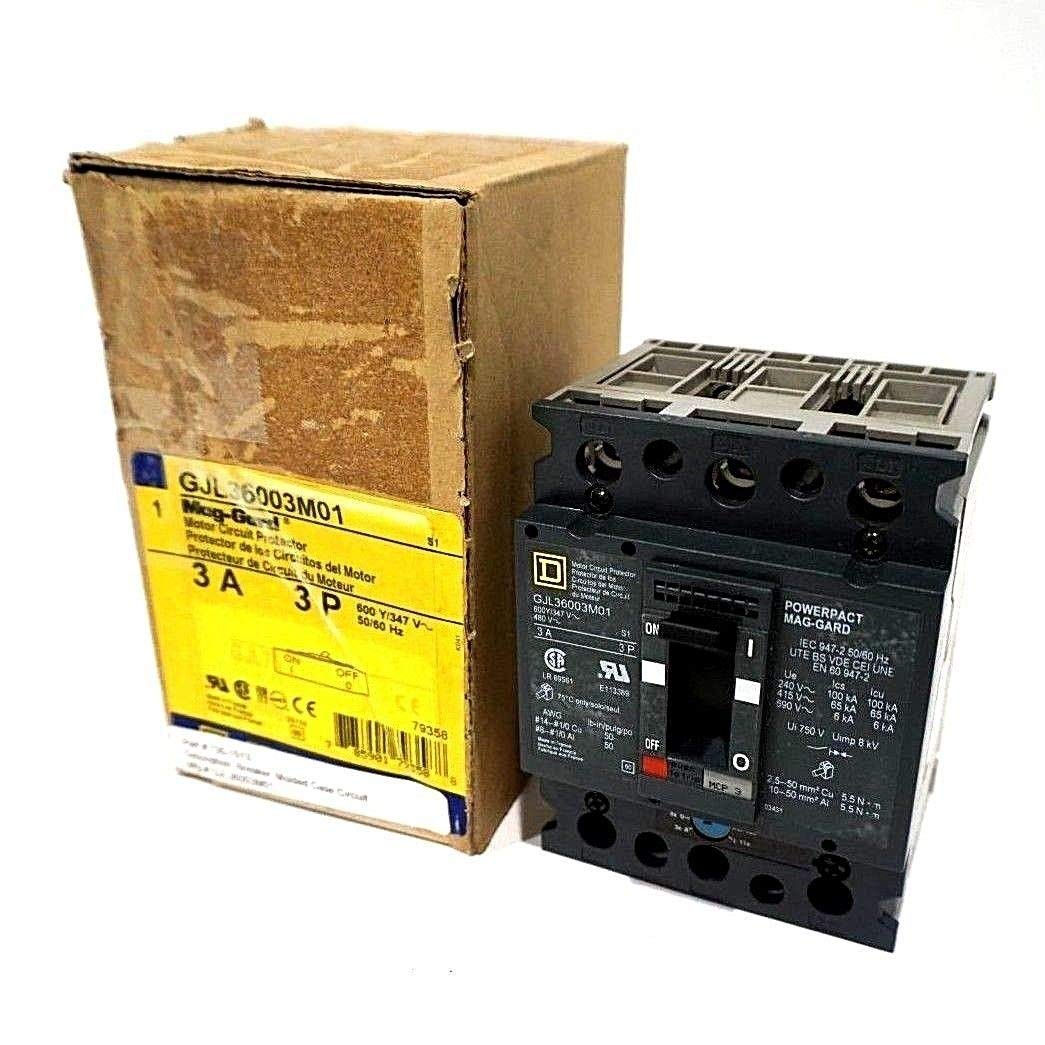 New Square D GJL36003M01 Motor Circuit Protector: Amazon.com ...