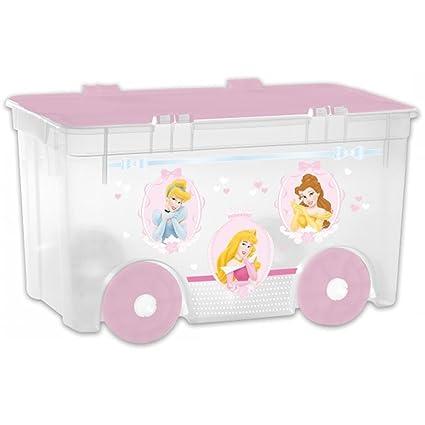 Curver   Nestor 52Ltr IML Princess Storage Box With Wheels