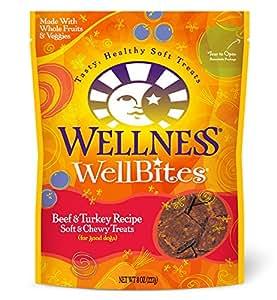Amazon.com : Wellness WellBites Soft Natural Dog Treats