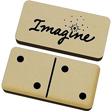 Azeeda Imagine Domino Juego y Caja (DM00011854): Amazon.es ...