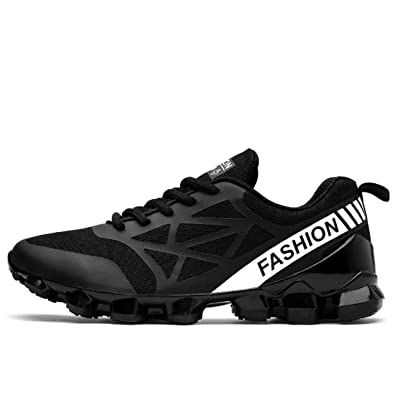 PZ Outdoor Sport shoes Mens Breathable Mesh Air and Antishock Running Shoes  B074PTHQQZ