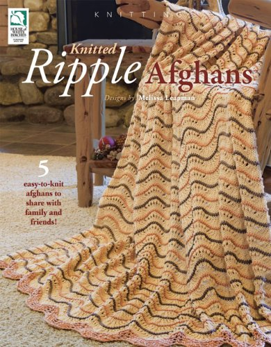 Knitted Ripple Afghans (Afghan Ripple Pattern Knitting)