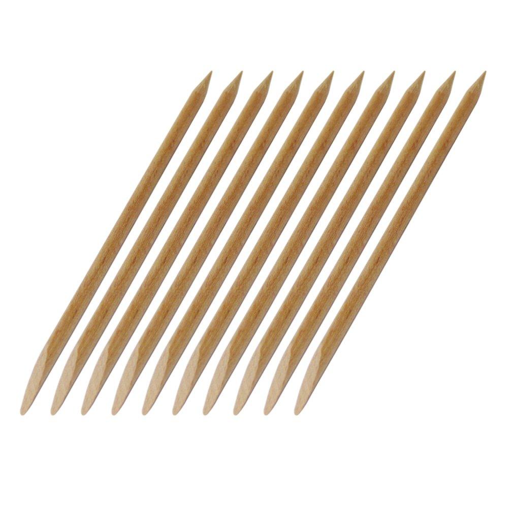 NAILFUN 10 Bastoncini in Legno per Manicure NAILFUN ®
