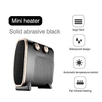 Calentador Eléctrico Mini Ventilador Calentador Hogar Hogar Pared Calentador De Manos Estufa Radiador Calentador Máquina: Amazon.es: Hogar
