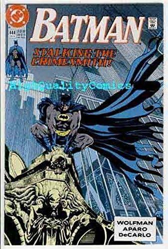 Batman Comic Book #444 DC Comics 1990 NEAR MINT UNREAD
