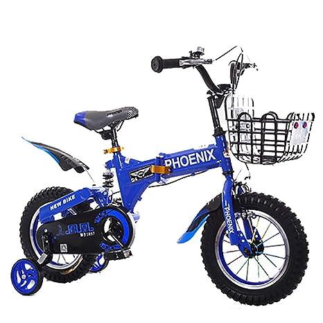 SHARESUN Bicicleta para niños de 2 a 13 años Niñas y niños, 16 ...