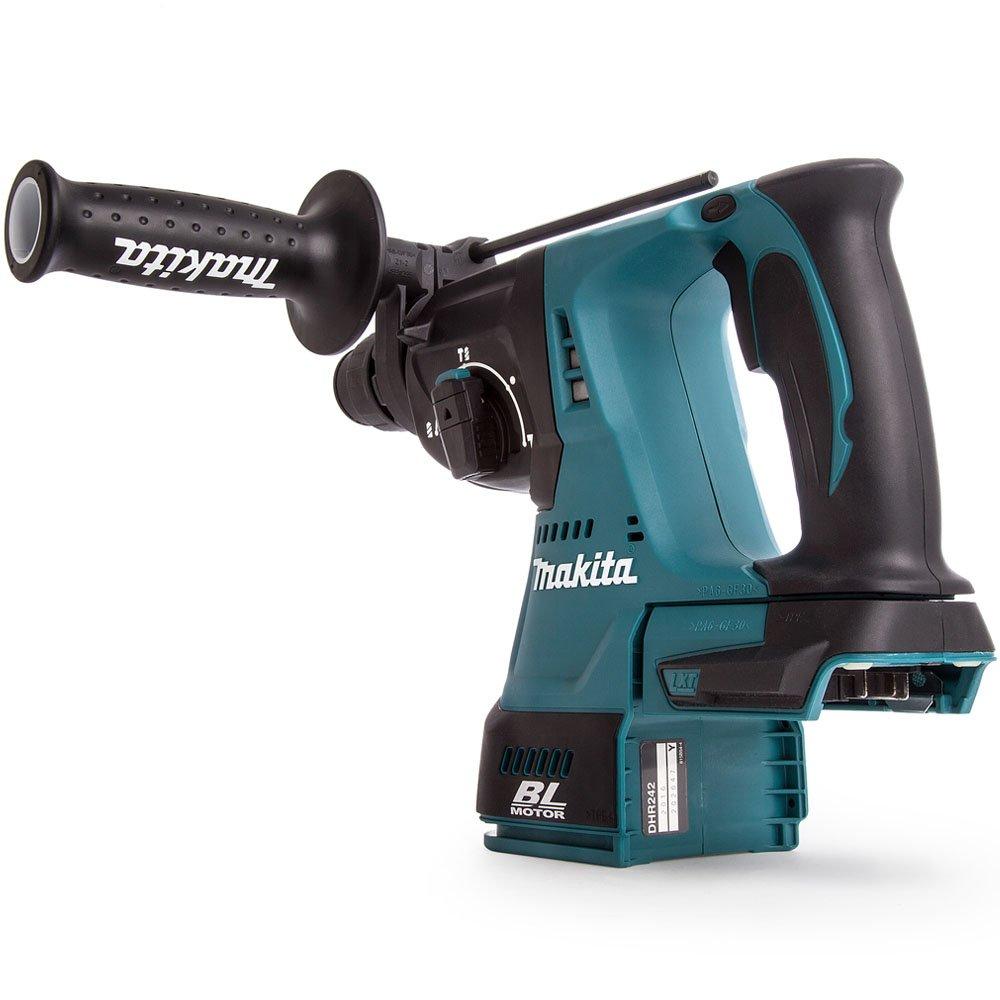 For Makita DHR242 18V Cordless SDS Plus Rotary Hammer Drill 4 Modes Body only UK