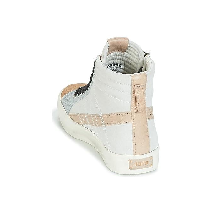 DIESEL D-STRING PLUS women High Top Sneaker Scarpe Beige y01645-p1445-h6563
