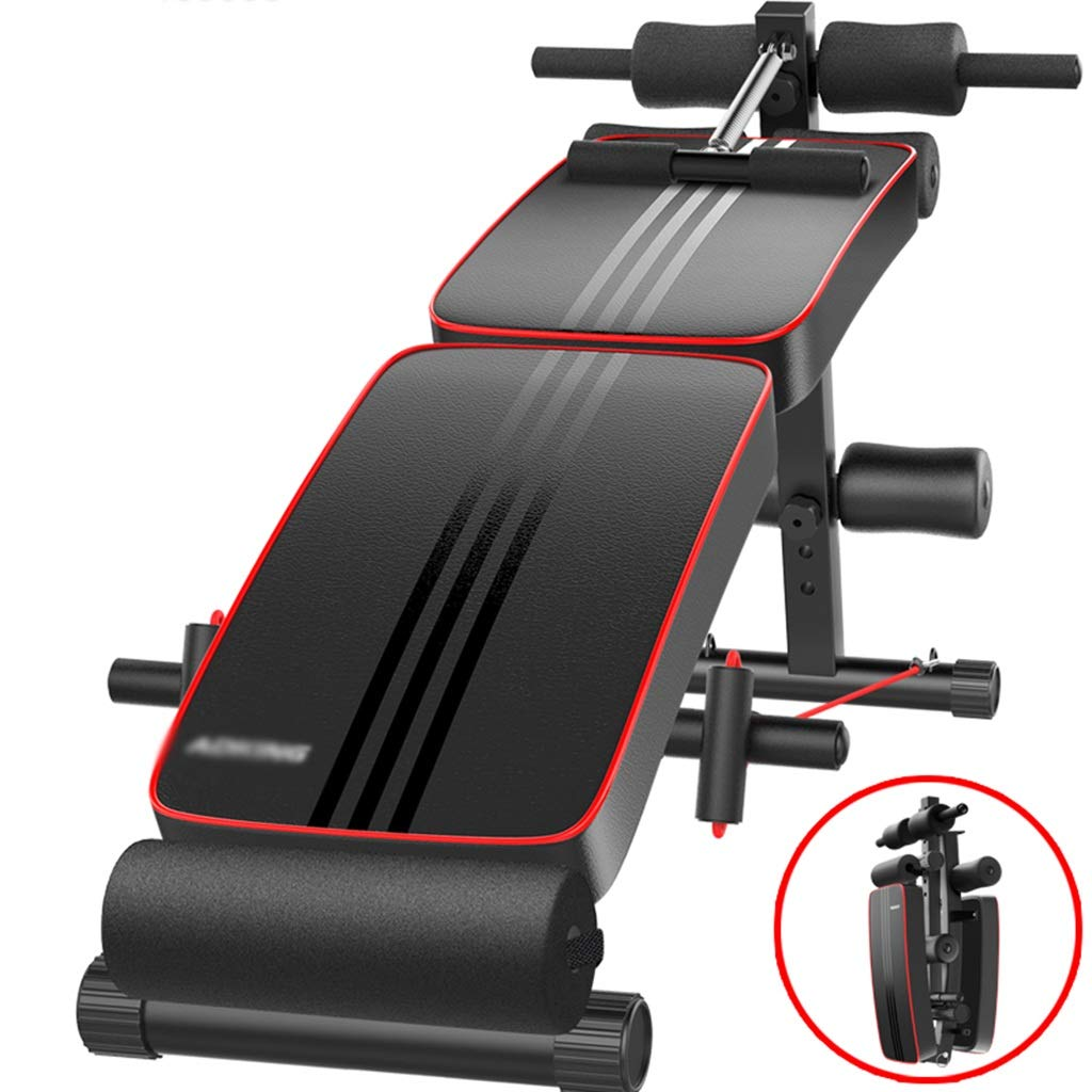 腹筋フィットネス機器、家庭用多機能折り畳み式男性腹筋補助スポーツ用品、127 * 50 * 61センチ  C B07P37JNVC