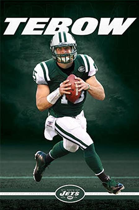 innovative design db90f ba555 Tim Tebow - New York Jets Poster 22 x 34in