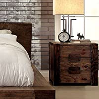 247SHOPATHOME Idf-7628N, nightstand, Oak