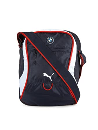 8285a845bd Buy Puma Unisex Blue Bmw Motorsport Portable Sling Bag - 7156602 Online at  Low Prices in India - Amazon.in