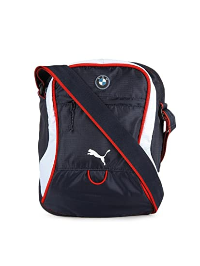 Puma Unisex Blue Bmw Motorsport Portable Sling Bag - 7156602