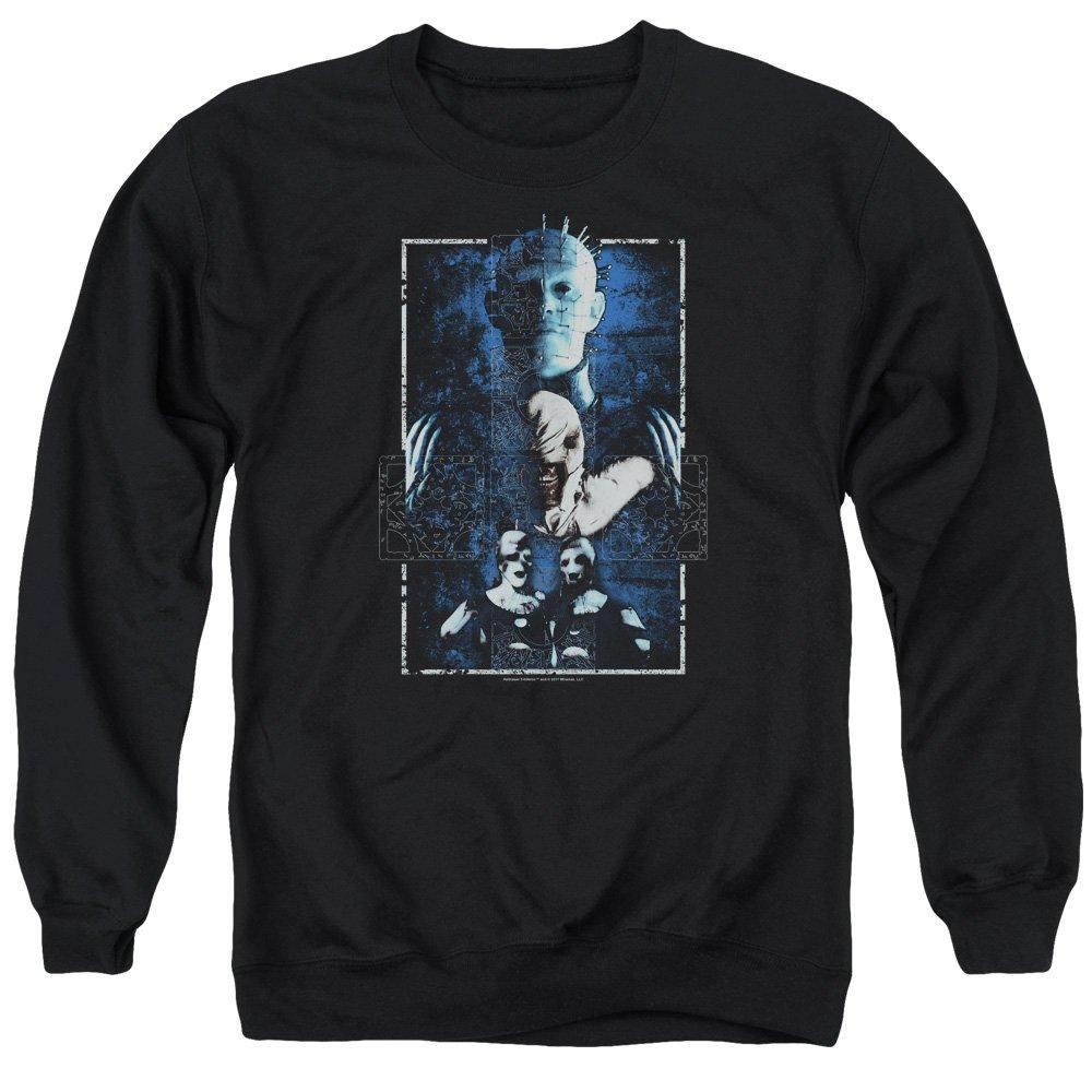 Hellraiser Cenobites Adult Crew Sweatshirt Black Trevco