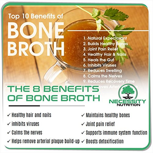 Bone-Broth-Protein-Powder-Natural-Pure-PaleoKeto-Friendly-Gluten-Free-Grass-Fed-Pasture-Raised-Non-GMO-Premium-Gut-Health-Nutrition-High-Quality-Collagen-FSkin-22-servings-173oz-Best-Value