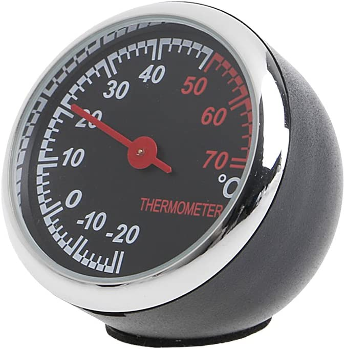 Xuniu Auto Temperaturmessgerät Werkzeug Mechanischer Zeiger Digital Thermometer 12v Küche Haushalt