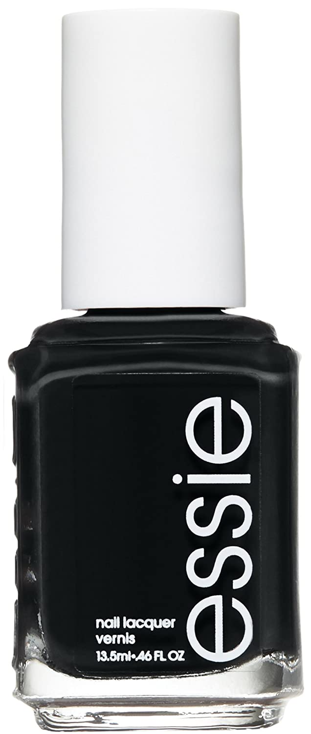 Amazon.com : essie nail polish, licorice, black nail polish, 0.46 fl ...