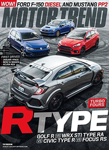 Driver Magazine And Car (Motor Trend)