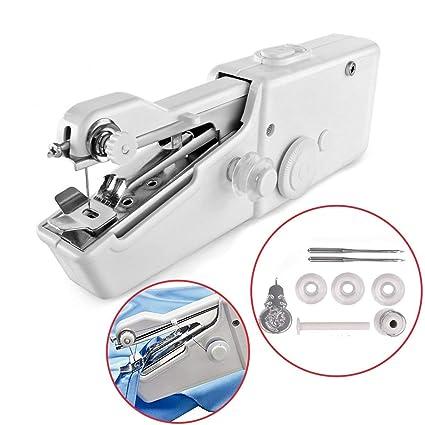 Amazon Awekris Handy Stitch Mini Hand Sewing Machine Portable Best Handy Stitch Hand Sewing Machine