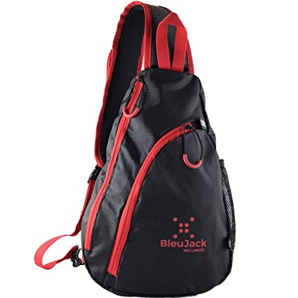 21e88d19318f Amazon.com   BleuJack Sling Backpack -Cross Body -Light Weight ...