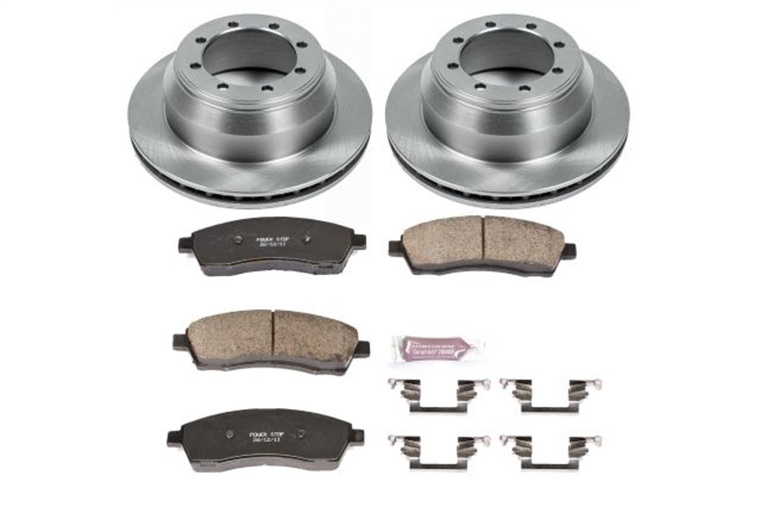 Autospecialty KOE1889 1-Click OE Replacement Brake Kit Power Stop
