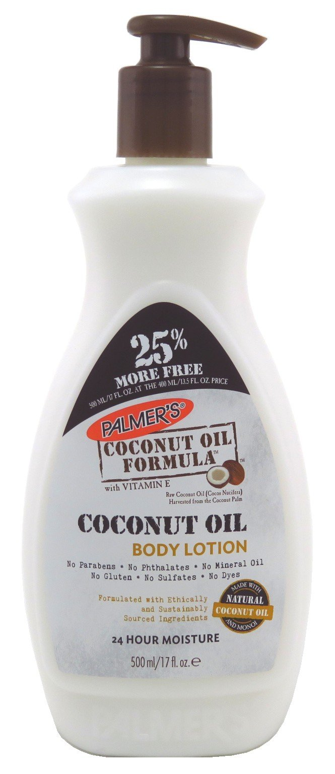 Palmers Coconut Oil Body Lotion 17 Ounce (500ml) (2 Pack) by Palmer's