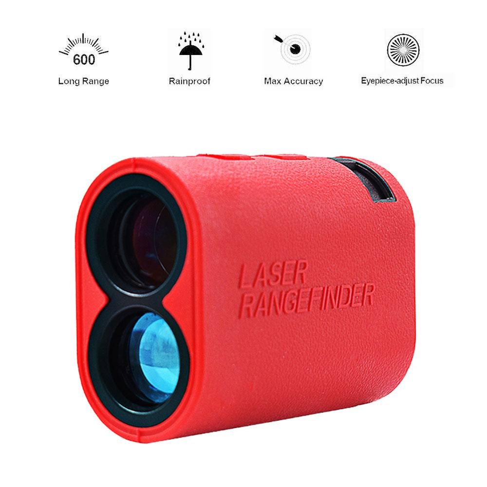 Teepao 600m Golf Range Finder - Scan Mode - Fog Mode - Speed Measurement - IP54 Weatherproof - 6X Magnification Rangefinder for Golf, Hunting, Outdoor Using