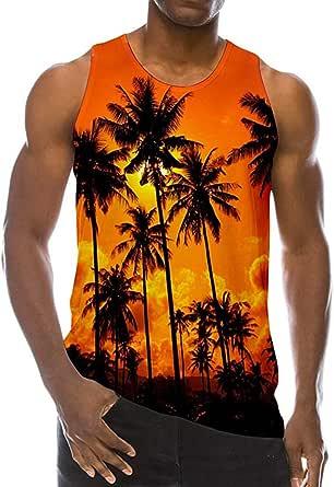 Sylar Camisetas Tirantes Chaleco De Playa para Hombre Casual ...