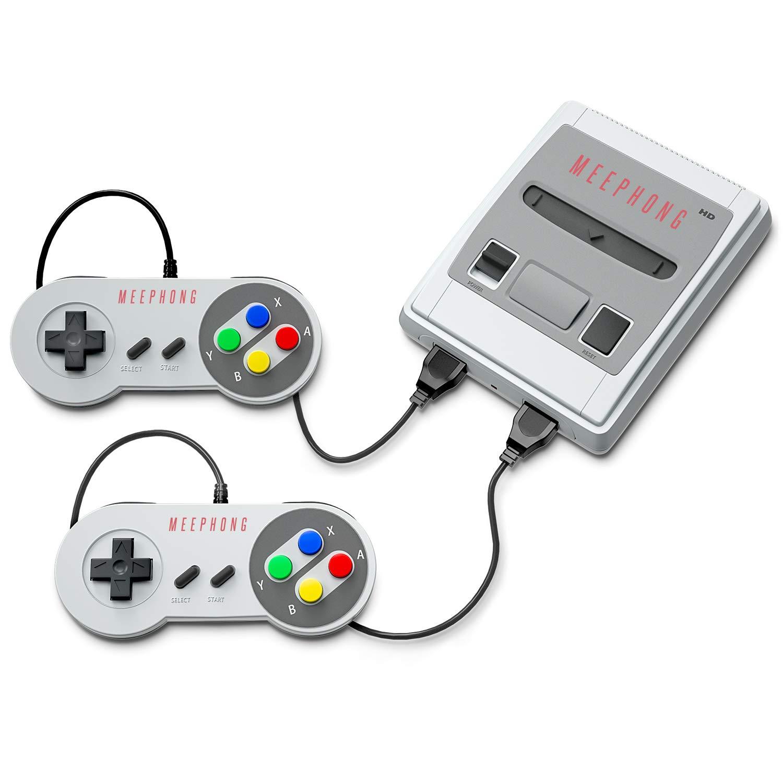 MEEPHONG Super Famicom Classic Game Console, HDMI HD SFC Classic Retro Video Game Console