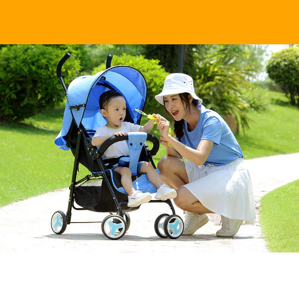 WDXIN Kid's Stroller Pushchair EVA Foam Shock Absorber Wheel Side Double Layer Design Applicable Age: 0-6 Months, 6-12 Months, 1-3 Years Old,C by WDXIN (Image #7)