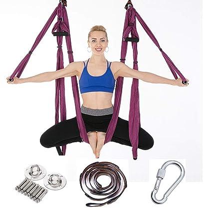 YUEBAOBEI Hamaca De Yoga Swing/Aerial Hamaca De Yoga/Ultra ...