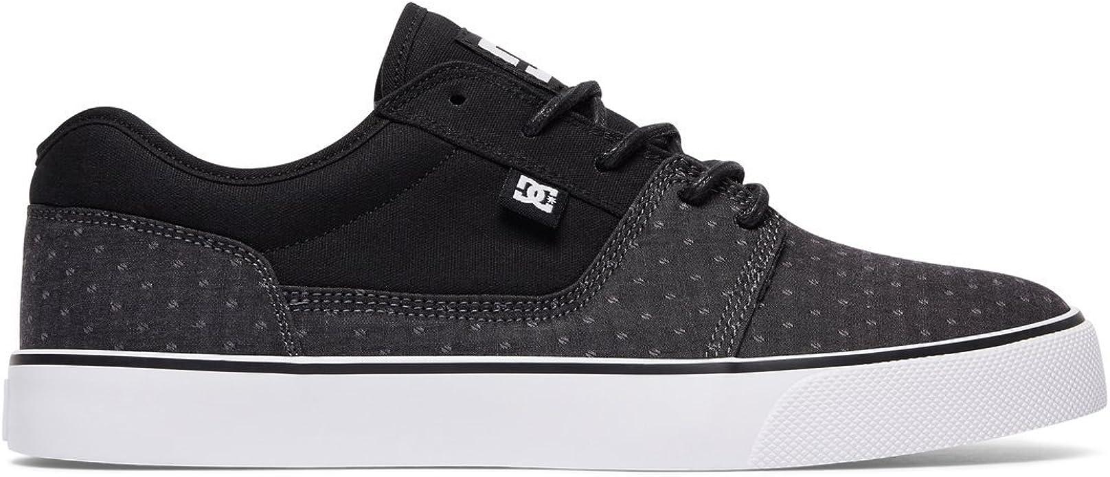 DC Shoes Tonik TX SE Sneakers Skateschuhe Herren Schwarz/Grau Pünktchen (Polka Dot)