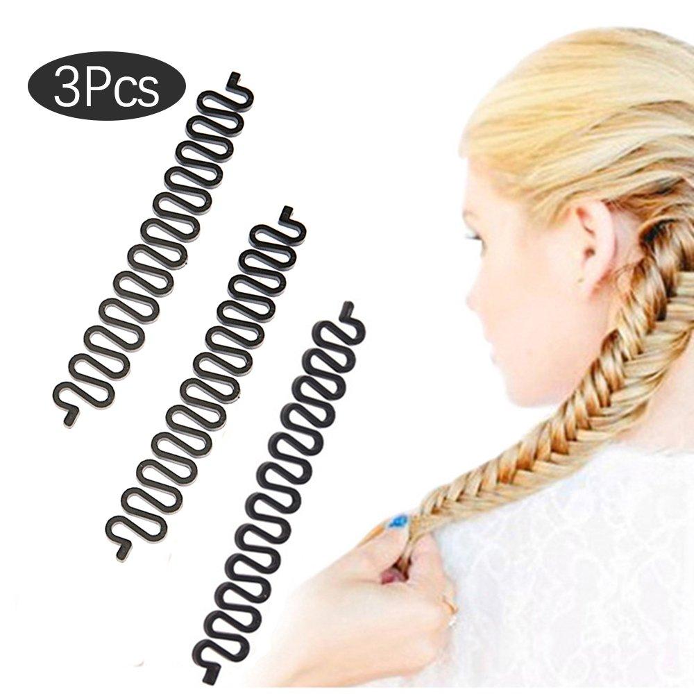 EYX Formula Fashion French Hair Braiding Tool Roller With Magic hair Twist Styling Bun Maker